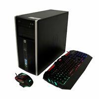GAMING PC DESKTOP COMPUTER INTEL CORE I5 8GB RAM GTX 1050ti 4GB WIN 10 RGB KM