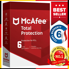 McAfee Total Protection 2020  6 Year 5 Device Ínstant dєlivєry📥