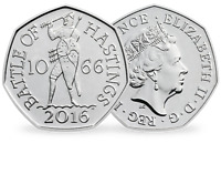1066 Rare 50p coin - Battle of Hastings - fifty pence UNCIRCULATED