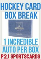202021 Hit Parade Limited Edition Hockey Card Box Break 1 RANDOM TEAM Break 4930