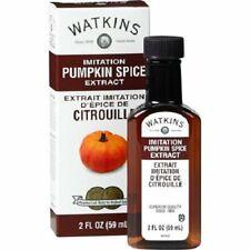 Watkins Imitation Pumpkin Spice Extract 2 FL Oz