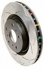 New DBA42224S Disc Brake Rotor for 08 EVO X Front Slotted 4000 Series Rotor