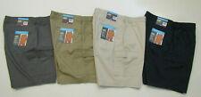 SAVANE Cargo Pocket Shorts Stretch Stone Khaki Navy Gray 34 36 38 40 42 44