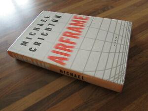 Airframe Michael Crichton First Edition 1996
