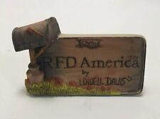 New ListingRetired 1980 Rfd America Lowell Davis Schmid Foxfire Farm Rare No box
