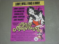 "Love Will Find a Way from ""In Aid of the Mountains""  Sheet Music"