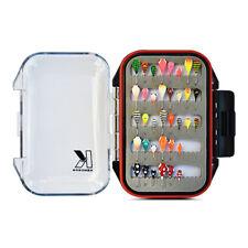 Ice Fishing Jig Kit (36 Tungsten Jigs) with Waterproof Jig Box, Panfish Ice Jigs