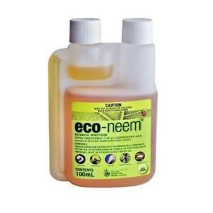 Eco Neem Concetrate 100ml Organic Pest Control Natural Botanical Insecticide
