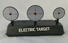 Crystal bullet electric target that can also be used for nerf or orbeez guns