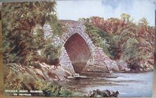 Irish Postcard BRICKEEN BRIDGE Lakes of Killarney L&NW Railway Ireland Holyhead