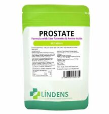 Próstata fórmula (Con Saw Palmetto, de semilla de calabaza y aminoácidos) 60 Tabletas Reino Unido realizó