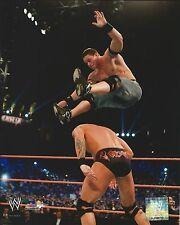 JOHN CENA -VS- RANDY ORTON WWE WRESTLING 8 X 10 PHOTO NEW # 489