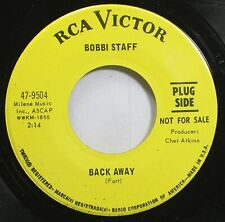 Pop Promo 45 Bobbi Staff - Back Away / A Ring Beats A Promise On Rca Victor