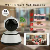 HD Wireless WiFi Smart Baby Dog Monitor Home Security Camera Video Night Vision