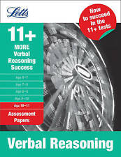 More Verbal Reasoning Age 10-11: Assessment Papers by Colin Sowter...