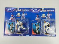 2x Hideki Irabu 1998 New York Yankees MLB Baseball Starting Lineup SLU Figure