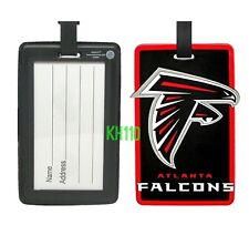 NFL Atlanta Falcons Soft Luggage Bag Tags /Gym bag / Golf bag