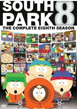 South Park: Season 8 Complete Eighth Dvd New Factory Sealed, Free Shipping