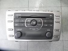 MAZDA 6 RADIO/CD/DVD/SAT/TV FACTORY, IN DASH STACKER, NON BOSE TYPE, GH, 02/08-1