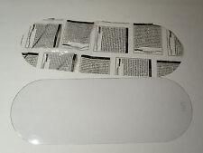 (2) BULLARD 77-1-040, CLEAR ACETATE OUTER LENS, BLASTING 2 per Pack
