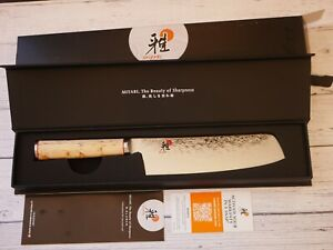 "NIB - Miyabi Birchwood SG2 by Zwilling J.A. Henckels 6.5"" NAKIRI Knife"