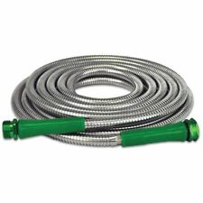 304 Stainless Steel Metal Garden Hose - 50ft.