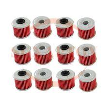 12 pcs Oil Filter For Honda TRX450R CRF250X CRF450X CRF250R CRF450R