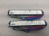 New for 2 GE G2-IL-T8-8FT-227 120V//277V BALLAST USA MADE F96T8 59w Bulbs