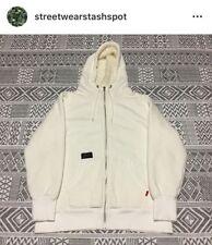 Wtaps Fur Lined Zip Up Hoodie Size Medium