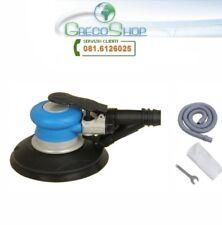"""Levigatrice rotorbitale palmare ad aria/pneumatica 6"""" + dispositivo aspirazione"""
