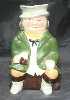 SylvaC Pottery Hand Painted Character Toby Jug  The Coachman