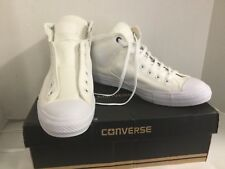 Converse All Star High Street White New Men 10 M Tie Sport Shoe Athletic