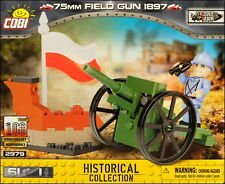 COBI 75mm Field Gun 1897 (2979) - 61 elem. - WWI French/Polish field gun