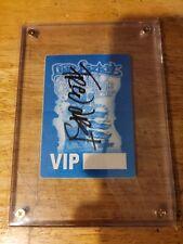 limp bizkit Autographed Vip Backstage Pass
