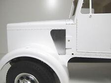 Pair Side Air intake pipe Block Off Plate Cover for Tamiya 1/14 Semi King Hauler