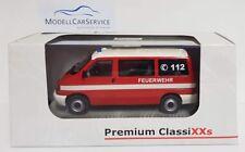 """Premium ClassiXXs 1/43: 13252 VW T4 bus """" Pompieri Norimberga """""""