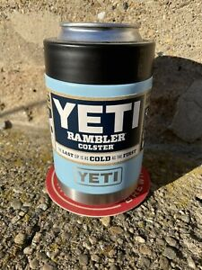 YETI SKY BLUE 12 OZ. COLSTER - RETIRED COLOR