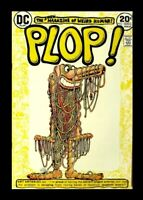 PLOP! #2,1973, DC, THE MAGAZINE OF WEIRD HUMOR, BASIL WOLVERTON, ART ARTERIES UN