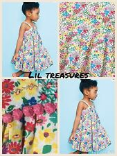 Floral 100% Cotton NEXT Dresses (0-24 Months) for Girls