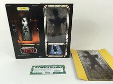 "custom vintage Star wars rotj 12"" han solo in carbonite box + inserts"