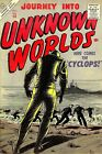 Journey Into Unknown Worlds 50 Comic Book Cover Art Giclee Repro on Canvas