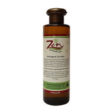 MENs FACE ASTRINGENT Organic 150ml Removes dirtslayers causing clogged pores
