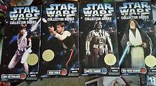 Star Wars 12 Inch 1996 Wave 1 Darth Vader Han Solo Luke Skywalker Obi-Wan BNIP