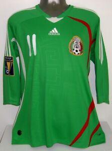 ADIDAS MEXICO GOLD CUP 2009 CARLOS VELA HOME L ORIGINAL SOCCER JERSEY SHIRT