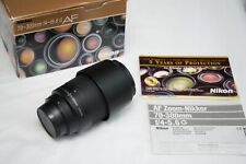 Nikon AF G Zoom-Nikkor 70-300mm f/4-5.6 FX lens - Excellent with Box