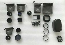 Moment Lens Lot - Anamorphic/Tele 58mm/Wide 18mm/Mounts/ 37mm Nd Filter/67mm