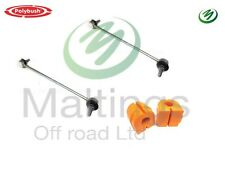 RANGE ROVER L322 FRONT ANTI ROLL BAR KIT LINKS AND POLYBUSHES 02-12 LR030047 KIT