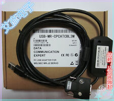 NEW For MITSUBISHI USB-MR-CPCATCBL3M Servo Download Cable MR-J2S #HC10 YD