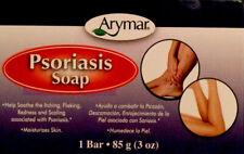 Psoriasis Jabón azufre ácido salicílico, arymar, 3 OZ 1 Bar Nuevo