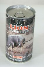 Lion Lager Beer Can #12